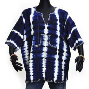 ●泥染め シャツ(ボゴラン アフリカ 民族衣装)|afromode