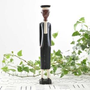 ●コロン人形(アフリカ インテリア 彫刻)|afromode