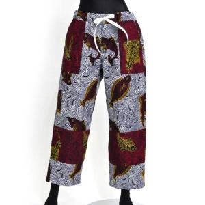○アフリカン ベイカー パンツ (メンズ ズボン ボトムス)|afromode