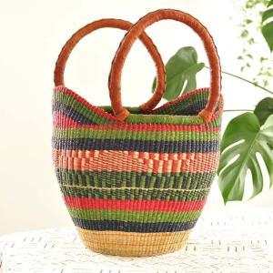 ◎ブルキナバスケット Variante (アフリカ かごバッグ) afromode