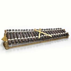■バラフォン ギニア製 (アフリカ 木琴)(22鍵) afromode