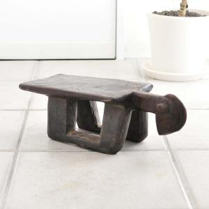 ≪Spring SALE!3/26まで≫◎ロビ族腰掛(アフリカの家具、スツール、椅子)|afromode
