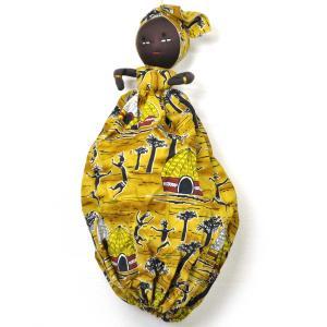 ●アフリカンマダム レジ袋収納 人形 afromode