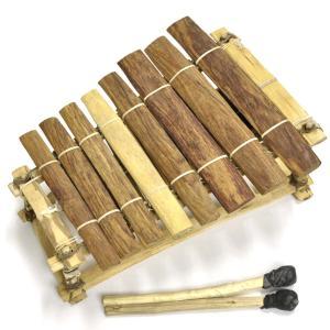 ◎ミニ バラフォン ブルキナファソ製 ≪アフリカの楽器≫ afromode