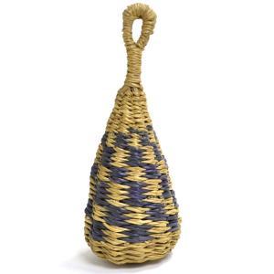●編みかごマラカス  (アフリカ ブルキナファソ産) afromode