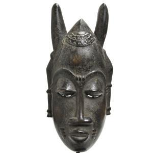 ◎バウレ族マスク(アフリカンアート 仮面)|afromode
