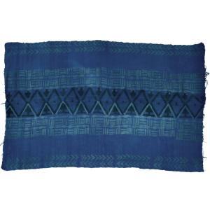 ◎インディゴ 手織り ボゴラン布 ≪綿100% 生地 アフリカ インテリア ファブリック≫ afromode