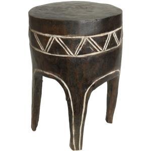◎グロ族腰掛(高さ:39cm)(アフリカの家具、スツール、椅子)|afromode