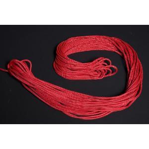 《楽器フェア対象・15%》●NIMBA<br>ジャンベ専用4mmロープ・30m<br>レッド|afromode