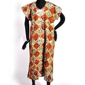 ≪ファッションフェア15%OFF!5/22まで≫○アフリカ コットン ワンピース(アフリカン エスニック ファッション) afromode