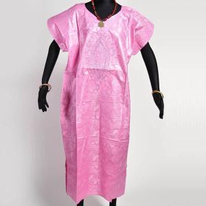≪ファッションフェア15%OFF!5/22まで≫○バザン 刺繍付ワンピース(アフリカン エスニック ファッション 民族衣装) afromode