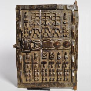 ≪アフロX'mas SALE 20%OFF≫◎ドゴン族の扉(アフリカの民具、インテリア 家具)|afromode