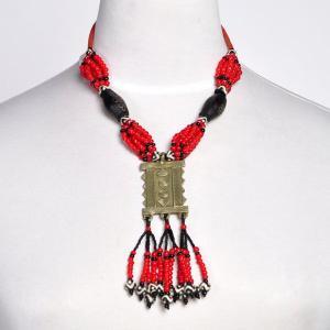 《アフロファッションフェア20%》ネックレス アフリカ(エスニック アクセサリー)|afromode