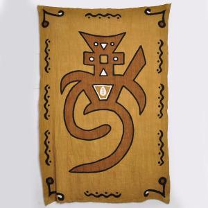 ◎アフリカ泥染め綿手織り布 (大型マルチカバー)|afromode