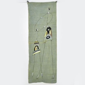 ●アフリカの布 泥染め ボゴラン(民族 エスニック インテリア ファブリック 生地 素材  マルチカバー)(タペストリー)|afromode