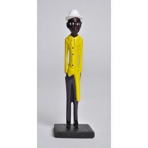 ≪アートフェア SALE 20%OFF≫●コロン人形mini・アフリカ 雑貨 エスニック インテリア|afromode