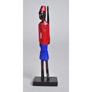 ≪アートフェア SALE 20%OFF≫●コロン人形mini アフリカ インテリア エスニック 雑貨|afromode