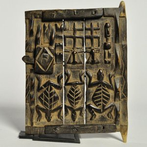 ≪アフロX'mas SALE 20%OFF≫◎ドゴン族 扉 ミニサイズ(アフリカ 家具 インテリア 雑貨)|afromode