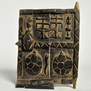 ◎ドゴン族 扉 ミニサイズ(アフリカ 家具 インテリア 雑貨)|afromode