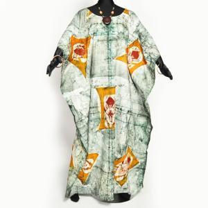 ≪ファッションフェア15%OFF!5/22まで≫○コットン ワンピース ≪アフリカン エスニック ファッション≫ afromode