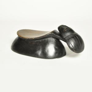 バウレ族枕(腰掛)(アフリカのインテリア、家具)|afromode