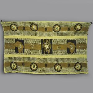 ≪Spring SALE!3/26まで≫◎泥染め 手織り 布 ≪ボゴラン 生地 アフリカ インテリア ファブリック≫|afromode