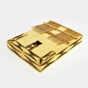 ●木箱竹爪カリンバ(アフリカ 民族楽器)|afromode