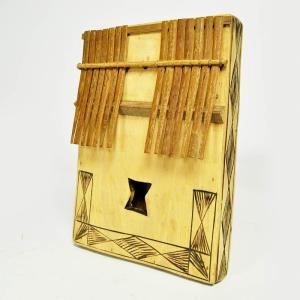●木箱竹爪カリンバ(アフリカ 民族楽器)|afromode|03