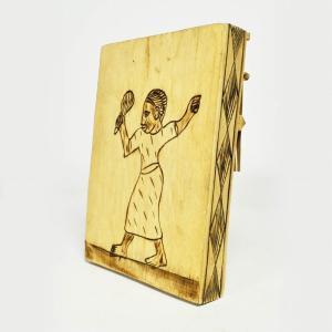 ●木箱竹爪カリンバ(アフリカ 民族楽器)|afromode|04