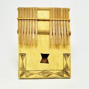 ●木箱竹爪カリンバ(アフリカ 民族楽器)|afromode|05