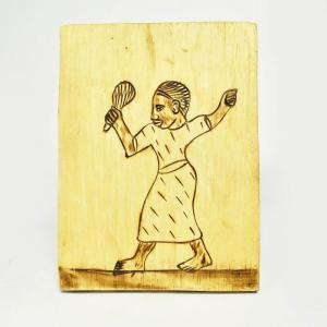 ●木箱竹爪カリンバ(アフリカ 民族楽器)|afromode|06