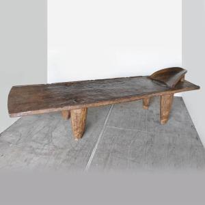 巨大セヌフォ族 ベッド(家具 アフリカ アンティーク インテリア)|afromode