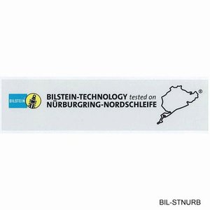 BILSTEIN ビルシュタイン ニュル ステッカー ブラック 抜き文字 クリックポスト送料無料 afterparts-co-jp
