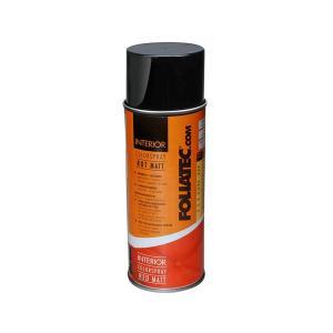 フォリアテック FOLIATEC インテリアカラースプレー Red Matt レッドマット プラスチック・合成皮革・PVC部品・木材などの色替え、補修に! 702006 afterparts-co-jp