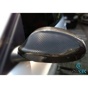 OMTEC カーボンドアミラーカバー for  BMW E90/E91('05〜'08)前期  31203111|afterparts-co-jp