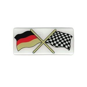 HerbertRichterプラスチックエンブレム ドイツ/チェッカー afterparts-jp