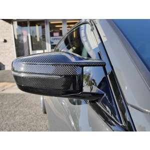 AUTOTECKNIC G8X M-Style ブラックカーボン ミラーカバー for BMW G20/G21/G22/G23/G30 右ハンドル車用 381669 afterparts-jp