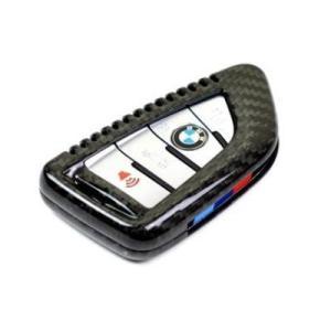 AUTOTECKNIC オートテクニック ドライカーボンキーケース for BMW F45/F48/F15/F16/G01/G30 ブラック 381921 afterparts-jp