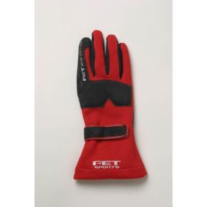FET sports/エフイーティースポーツ 3Dレーシンググローブ レッド×ブラック Mサイズ 71172005/FT3DGL5 afterparts-jp