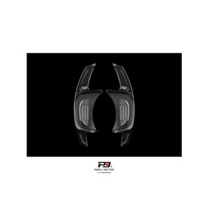 PD アルミパドルシフター for VW Golf7.5/7 GTI/R (ブラック) LEYO motorsport 302080|afterparts-jp