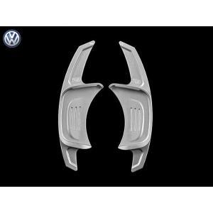 PD アルミパドルシフター for VW Golf7.5/7 GTI/R (シルバー) LEYO motorsport 302082|afterparts-jp