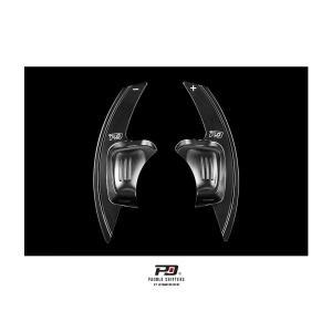 PD アルミパドルシフター for VW Golf7 Sportline (ブラック) LEYO motorsport 302083|afterparts-jp
