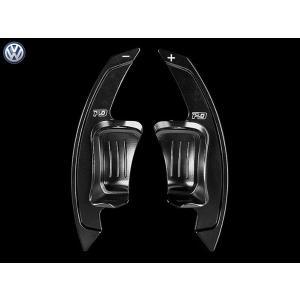 PD アルミパドルシフター for VW Golf6 GTI/R (ブラック) LEYO motorsport 302086|afterparts-jp