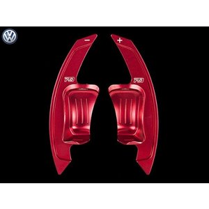 PD アルミパドルシフター for VW Golf6 GTI/R (レッド) LEYO motorsport 302087|afterparts-jp