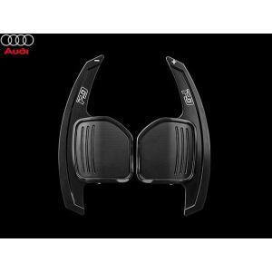 PD アルミパドルシフター for Audi Version1 (ブラック) LEYO motorsport 302090|afterparts-jp