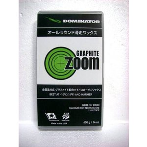 DOMINATOR/ZOOM/GRAPHITE/400g/広い温度帯対応