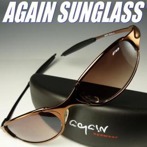 [Drapモデル]イタリーデザインAGAINサングラス/サングラス メンズ UV 100% カット again