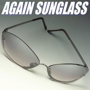 イタリーデザインAGAINサングラス/サングラス メンズ UV 100% カット again