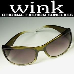 WINK(ウィンク) サングラス UV 100% カット デカサン/レディース|again