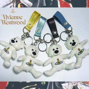 ★完売御礼★爆買いセール!Vivienne Westwoodヴィヴィアンウェストウッド★めっちゃカワイイ★☆くまさんキーホルダー♪|again